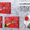 Prémiové Callaway Chrome Soft Truvis míče - 12 ks za nepřehlédnutelných 890 Kč