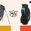 WILSON STAFF LITE II - lehký, plně vybavený bag se slevou 40%