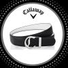 """Callaway Reversible """"C"""" pánský pásek, černý / bílý ... 890 Kč"""