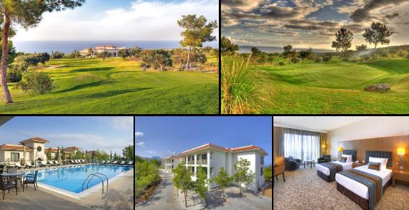 Opravdu kyprá nabídka! Týden golfu s polopenzí na Kypru včetně letenky - 23.990 Kč