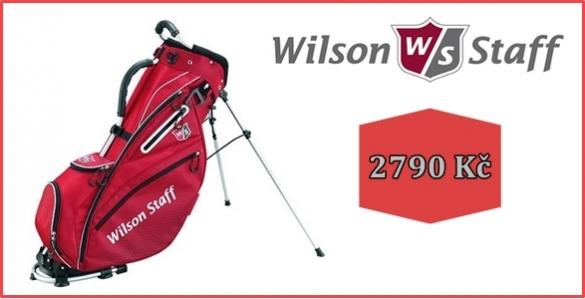 Wilson Staff Nexus II golf bag s jedinečnou konstrukcí a mnoha golfovými oceněními nyní za 2999 Kč