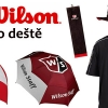 WILSON DO DEŠTĚ - deštník, nepromokavý klobouk a ručník Wilson se slevou 25% + další 3 varianty!