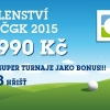 ČGK - golfové členství 2015 + 3x fee (i na turnaje) k využití na 28 hřištích jako bonus