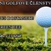 ČGK - roční golfové členství 2014 + 3 fee jako bonus s hrou i o víkendech, výběr z 23 hřišť