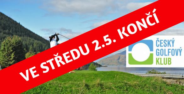 ČGK - NOVÁ VARIANTA: golfové členství na rok 2018 + 3x green fee k využití na 32 hřištích