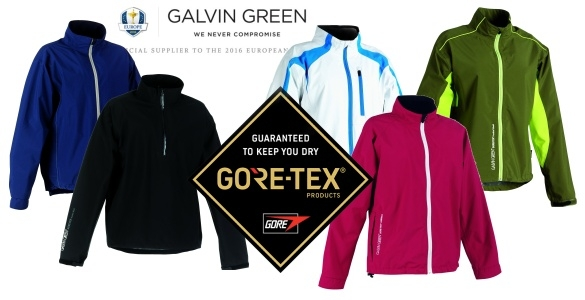 Výprodej GALVIN GREEN goretexových bund - pánské i dámské, všechny modely 2.970 Kč