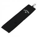 Golfový ručník callaway tri fold černý
