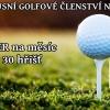 ČGK - luxusní golfové členství na zkoušku - 10 her na měsíc na 30 hřištích