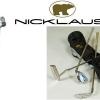 Lehký dámský golfový set Jack Nicklaus s pencil bagem a 3 holemi, ideální pro začínající golfistky!