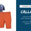 Callaway golfový outfit pro pány: tričko + šortky = 1990 Kč