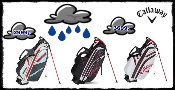 Callaway Aqua Dry Bag - nepromokavé golfové bagy se slevou neméně 60% - 2 varianty i barvy