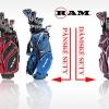 Top golfové sety RAM G-FORCE se 40% slevou ve všech variantách. Limitovaná akce.
