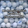 Hrané golfové míčky mix značek 6,70 Kč / ks