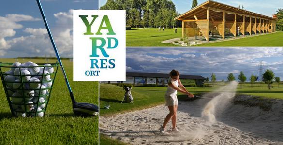 Zkuste si golf v Předboji u Prahy: 2 hodiny s profíkem, vstupy, míčky na driving + půjčení holí = vše za 490 Kč!
