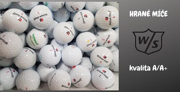 Hrané míčky Wilson Staff nejvyšší kavality A/A+. 25 kusů = 475 Kč