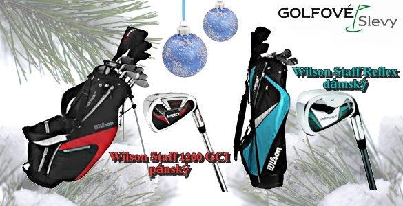 Wilson kompletní pánský golfový set s bagem, model 2014  SE SLEVOU 58%.