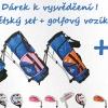 Dětský golfový set Sulov + tříkolový vozík se slevou až 40%!