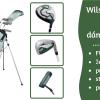 Wilson Prostaff SGI dámský pravý / levý golfový půlset s bagem za letně-akčních 5650 Kč