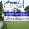 Erbia Golf Club - registrace, slevy až 50% na více než 25 hřištích, zvýhodněný DR na Cindě, poukaz 150 Kč na zboží a další výhody