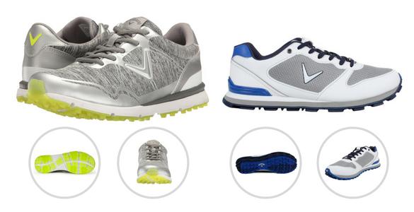 Letní pohodlné golfové boty Callaway za hubičku - PÁNSKÉ i DÁMSKÉ