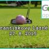 Golfový turnaj - Františkovy Lázně 27.8. 2015 - zabojujte o turnajové vavříny jen za 595 Kč