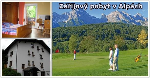 Pension Tyrol - pobyt v Alpách, 3 noci s polopenzí a další služby jen 4890 Kč PRO DVA!
