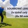 Soukromé golfové lekce v Praze - trénujte 2x týdně celý měsíc, 8 lekcí jen za 2600 Kč