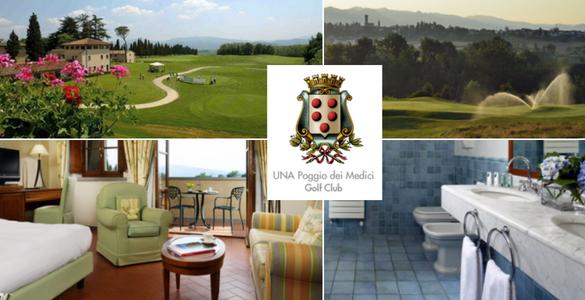 Itálie, Toskánsko: 7 nocí + unlimited golf + volný vstup do wellness a fitness se slevou 15% + 10%!
