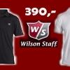 Wilson Staff pánské golfové tričko s límečkem jen za 390,- Kč! Neváhejte