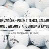 Hrané golfové míčky 25 ks - A+/A kvalita mix pouze TOP značek jen 19,6 Kč/ks