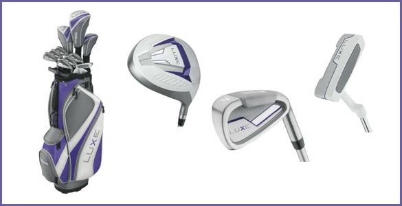 PLNÝ dámský golfový set (10 holí) Wilson Luxe včetně bagu za 6.990 Kč