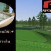 RS Sportcentrum - 120 min. na golfovém simulátoru + 60 min. ve vířivce až pro 6 osob v Praze, sleva 41%!