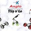 Axglo Flip n Go - superskladný kanadský golfový vozík teď za 3850 Kč