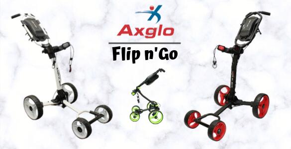 Axglo Flip n Go - superskladný kanadský golfový vozík teď za 3790 Kč