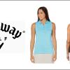 VÝPRODEJ LETNÍ KOLEKCE CALLAWAY: Dámské tričko + šortky za 1290 Kč - výběr z barev i velikostí