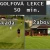 Lekce golfu 50min. s profesionálním trenérem v Brně se slevou 44% pro 1-3 osoby