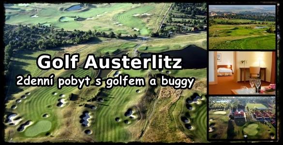 Prázdninový 2denní golfový luxus ve Slavkově včetně buggy - jen 1.950 Kč /osoba