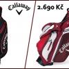 CALLAWAY CHEV ORG Cart Bag nebo HYPERLITE 5 Stand Bag jen za 2690 Kč