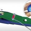 Patovací koberec s vracející jamkou + klasický putter + popisovač míčků se slevou 50%.