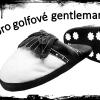 Stylové papuče pro golfové gentlemany jen za 395 Kč