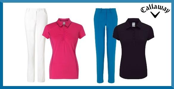 Callaway dámská kombinace tričko + kalhoty za 1650 Kč