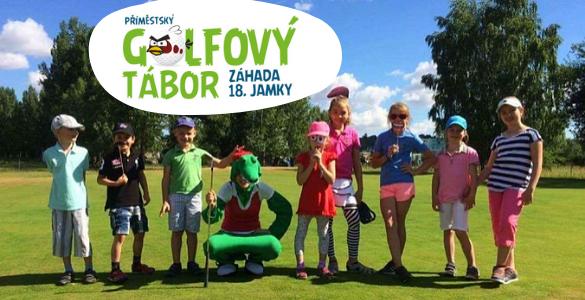 Příměstský golfový tábor v Praze - 5 dní golfu a spousta další zábavy za 4.490 Kč
