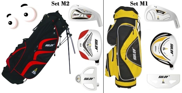 Pánský golfový set s bagem za cenu, ze které vám vypadnou oči - jen 2.999 Kč