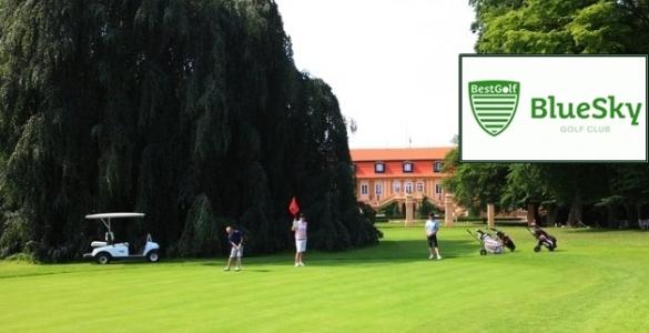 Bestgolf Blue Sky - členství ČGF + fee 18 jamek Štiřín + slevy až 30% v 13 golfových resortech a další výhody