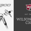 WILSON STAFF C300 set želez 5-PW grafit = 8690 Kč