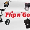 Úžasný 4kolový kanadský golfový vozík Flip n Go se slevou 27% - různé barvy