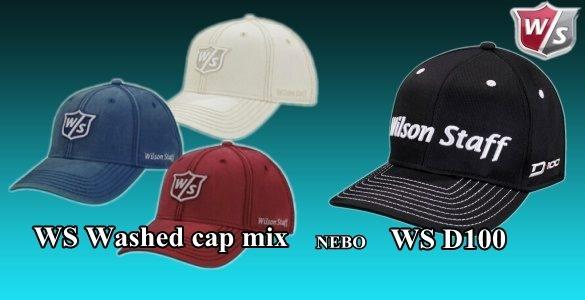 Wilson Staff golfová kšiltovka D100 nebo Washed  - jen 225 Kč, čtyři barvy