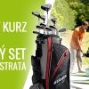 Golfový kurz na HCP 8x 80 min. včetně zkoušky + golfový set na celý rok jako BONUS