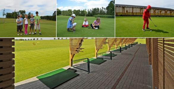 Dětský jarní golfový kurz s PGAC profíkem - 4x90 minut, PRAHA nebo LIBEREC