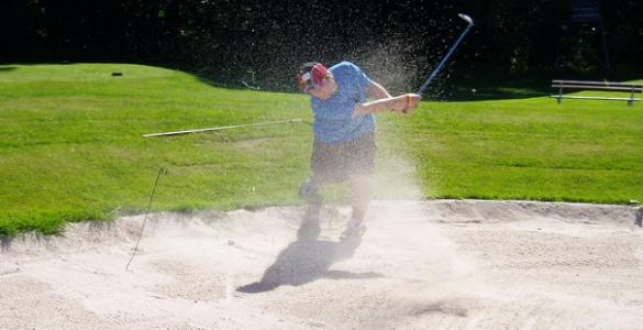 LUKÁŠ HORÁK - 30min. lekce golfu s profesionálním trenérem v Brně se slevou 50% + BONUS!